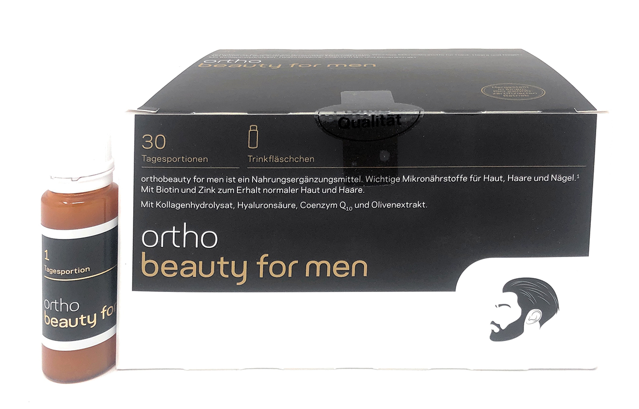 orthomed orthobeauty® for Men 30 Trinkfläschchen à 20ml/22g (30x22g = 660g)
