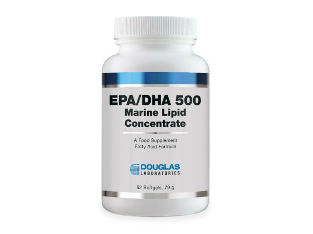 Douglas Laboratories Europe EPA/DHA 500 Marine Lipid Concentrate 60 Softgels (79g)