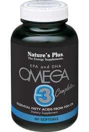 Nature's Plus Omega-3-Complete 900 90 Softgels