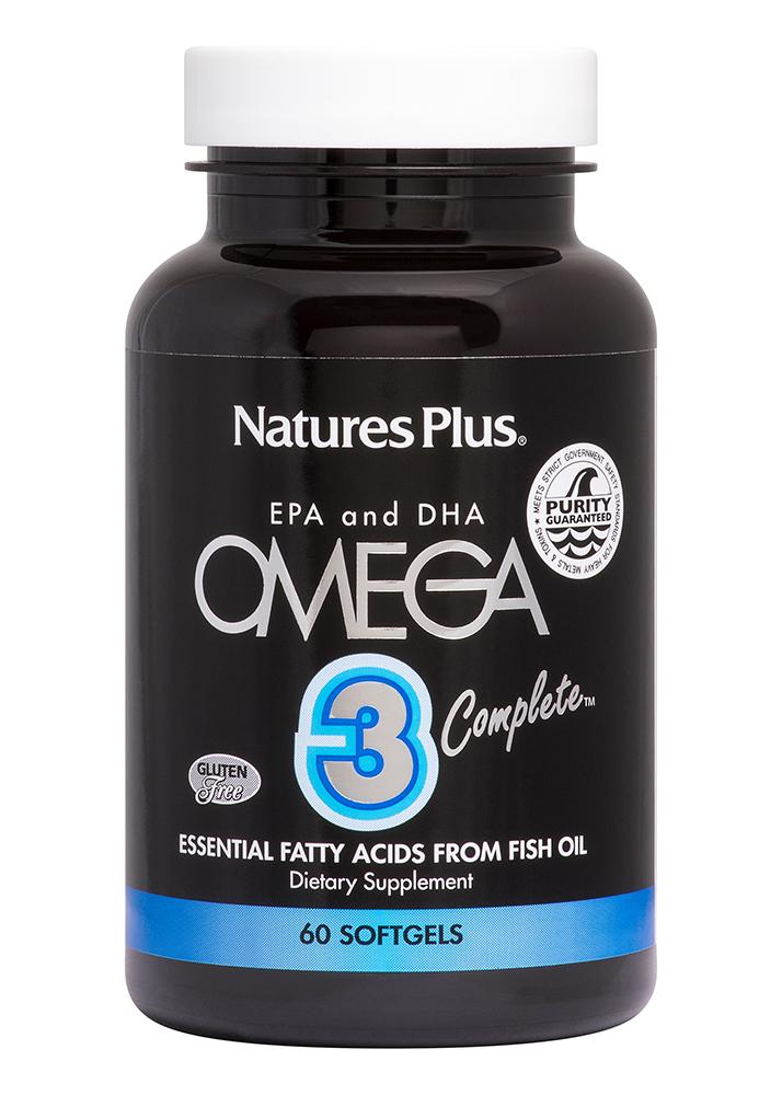 Natures Plus Omega 3 Complete 60 Softgels