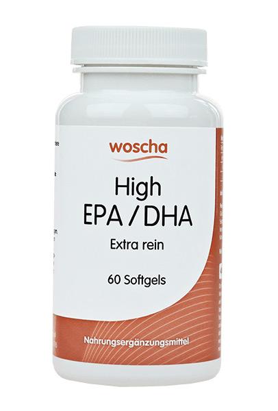 woscha HIGH EPA / DHA  Extra Rein 60 Softgels (82g)