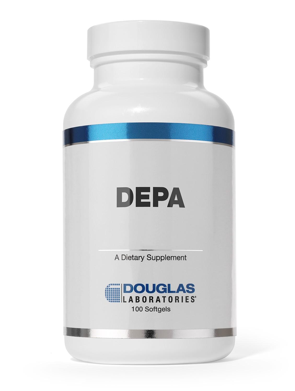 Douglas Labs DEPA (120 DHA+ 180mg EPA) 100 Softgels