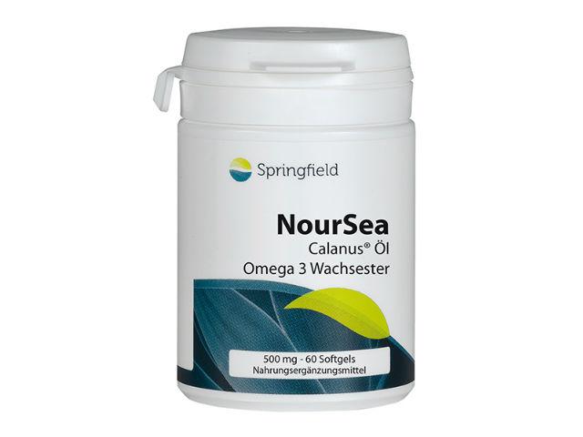 Springfield NourSea Calanus-Öl Omega-3 Wachsester 60 Fisch-Softgels (44g)