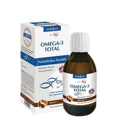 Norsan Omega-3 Total Zitrone 200ml (Ersatz für 74531 Arctic Essence 200 ml Flasche AX)
