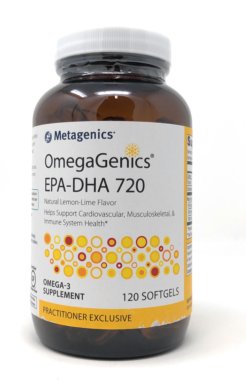 Metagenics OmegaGenics[TM] EPA-DHA 720 120 Softgels