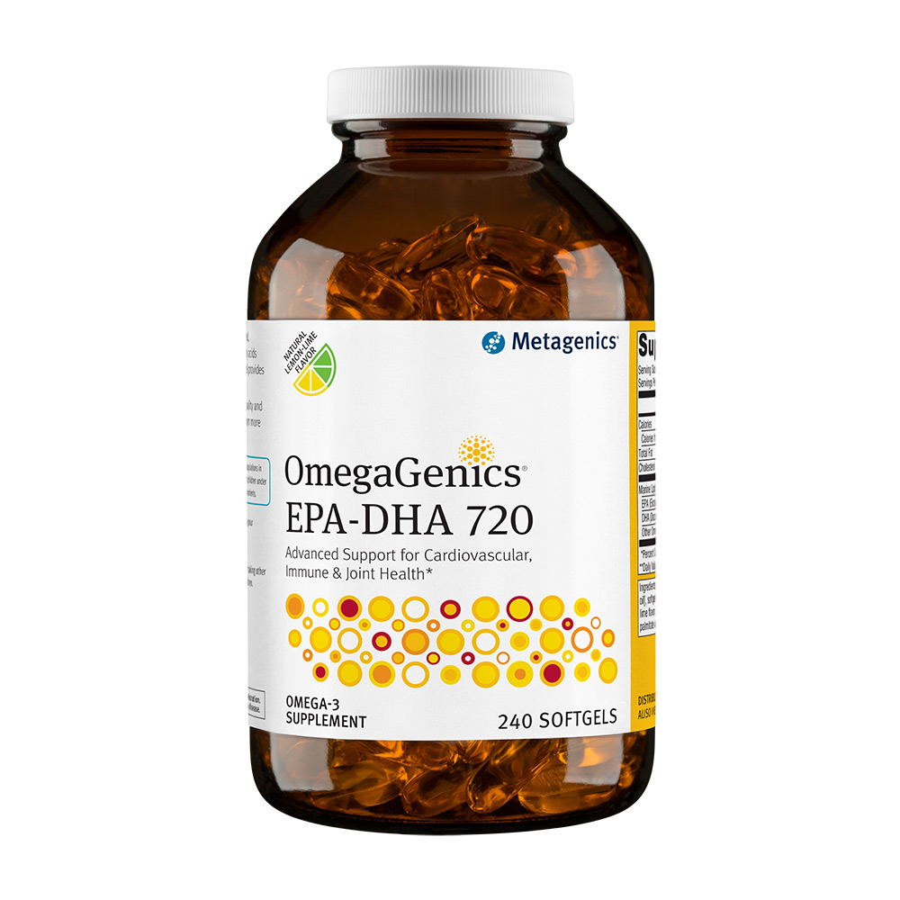 Metagenics OmegaGenics[TM] EPA-DHA 720 240 Softgels