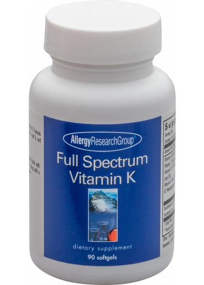 Allergy Research Full Spectrum Vitamin K[TM] 90 Softgels