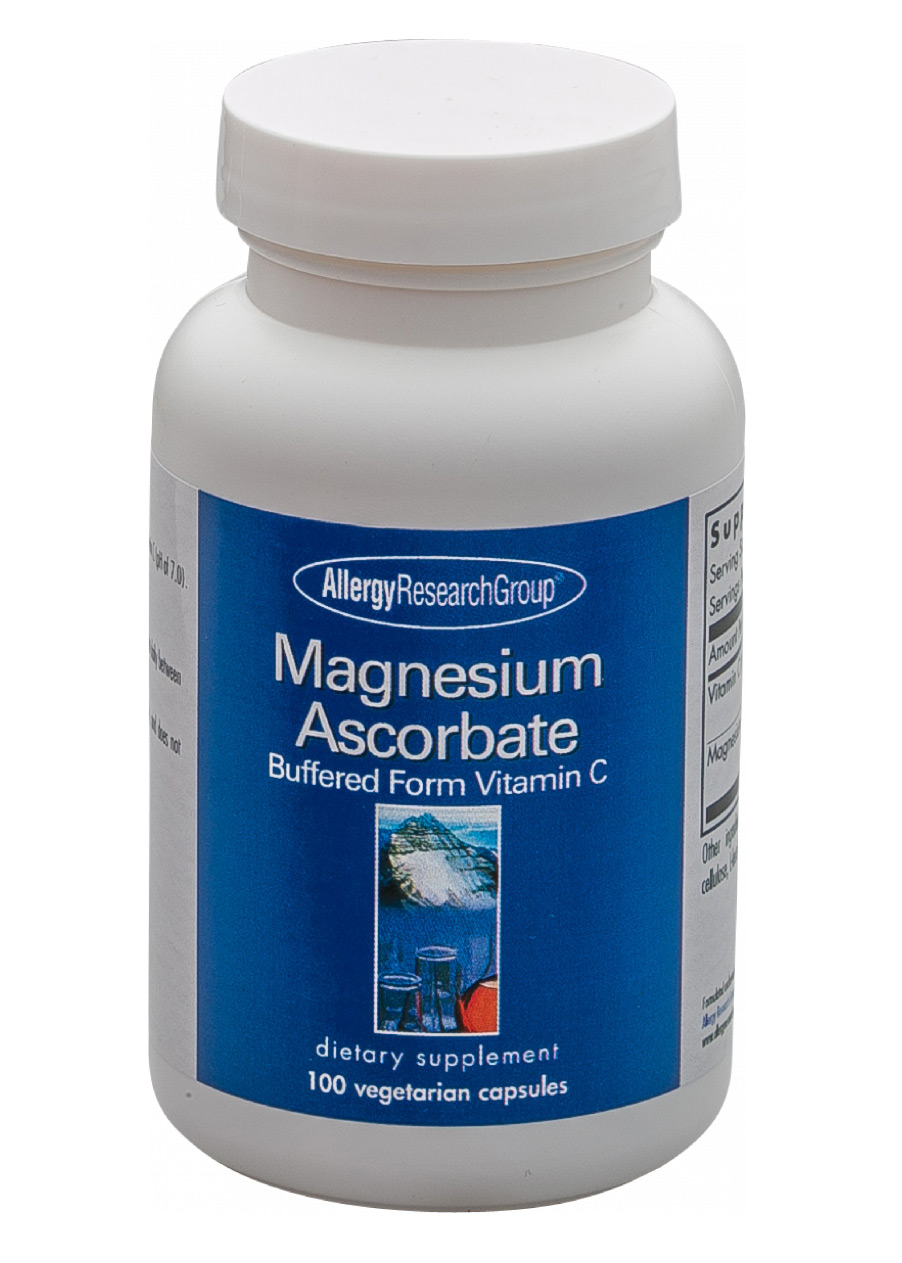 Allergy Research Group Magnesium Ascorbate 100 veg. Kapseln