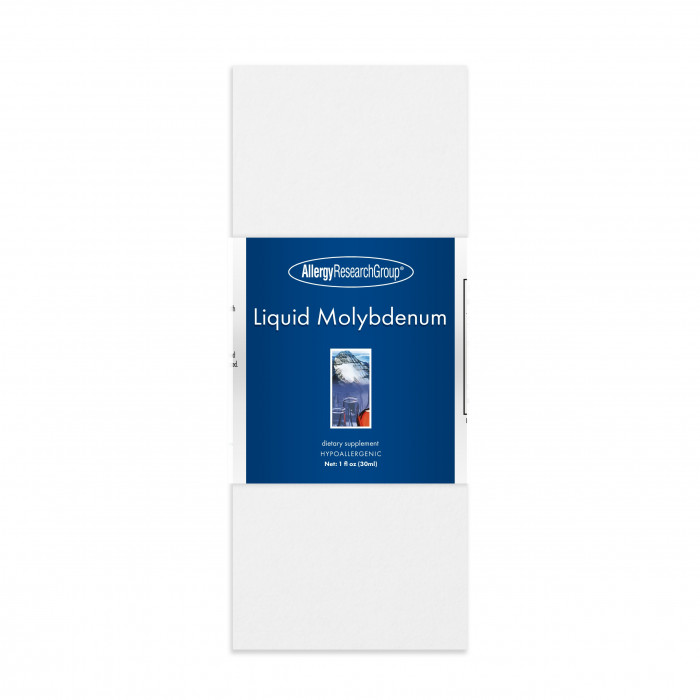 Allergy Research Liquid Molybdenum (Molybdän) 29ml (1 oz.)