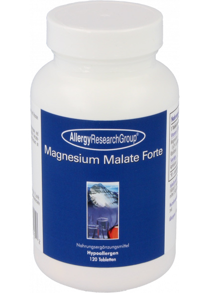 Allergy Research Magnesium Malate Forte 120 veg. Tabletten