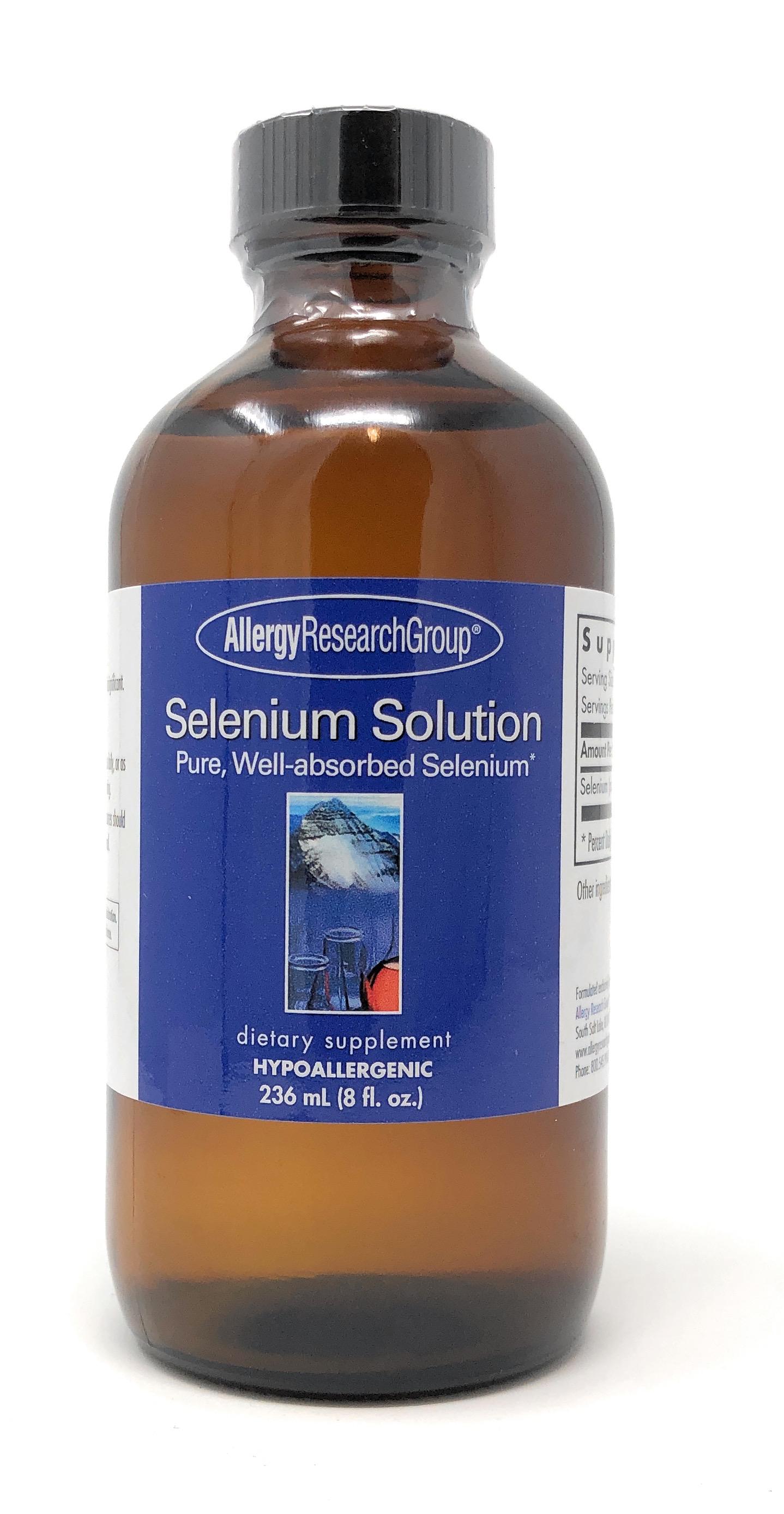 Allergy Research Group Selenium Solution (Natriumselenit, flüssig) 236 ml (8 oz.)