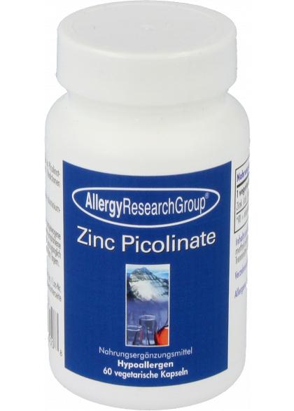 Allergy Research Group Zinc Picolinate (25 mg Zinkpicolinat) 60 veg. Kapseln