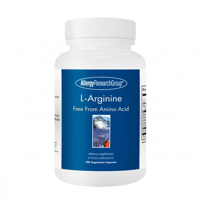 Allergy Research Group L-Arginine 500 mg 100 veg. Kapseln