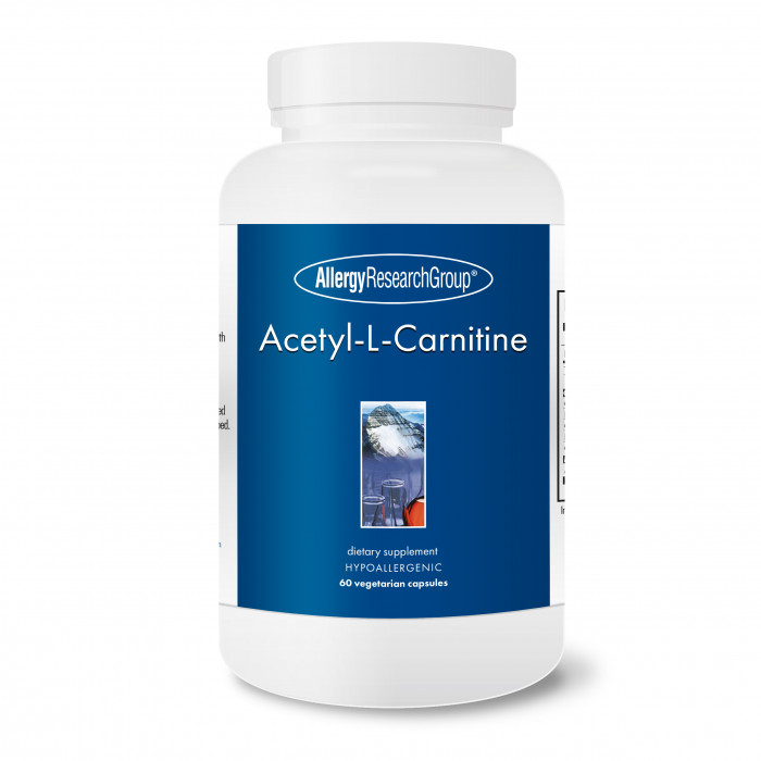 Allergy Research Group Acetyl-L-Carnitine 250 mg 60 veg. Kapseln