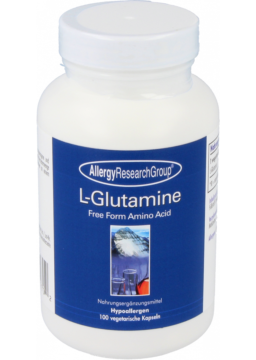 Allergy Research Group L-Glutamine 500mg 100 veg. Kapseln