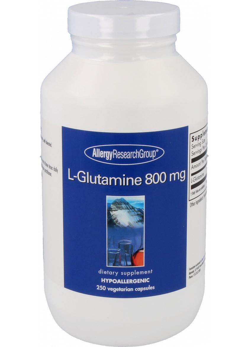 Allergy Research L-Glutamine 800mg 250 Kapseln