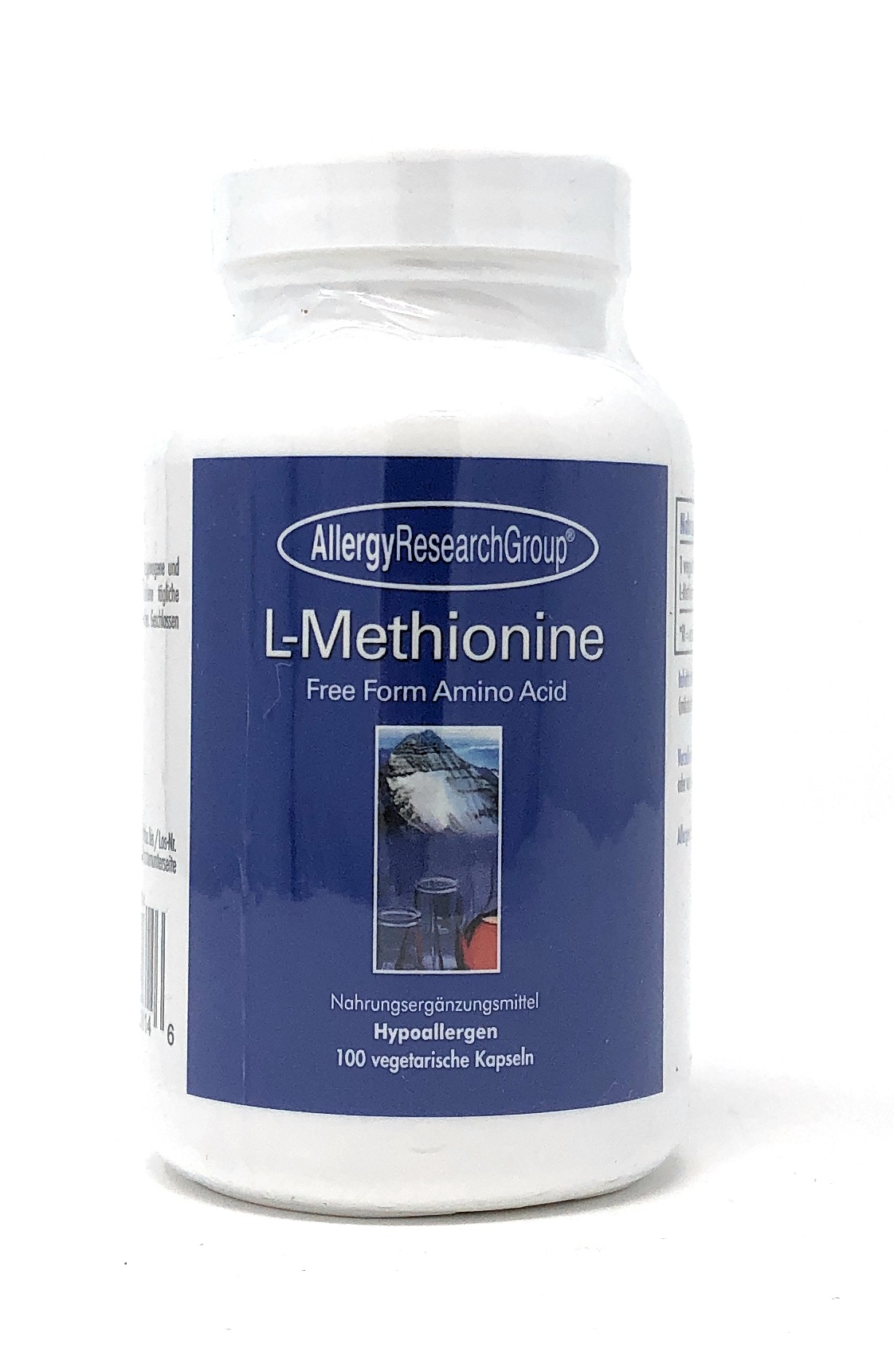 Allergy Research L-Methionine 500mg 100 veg. Kapseln