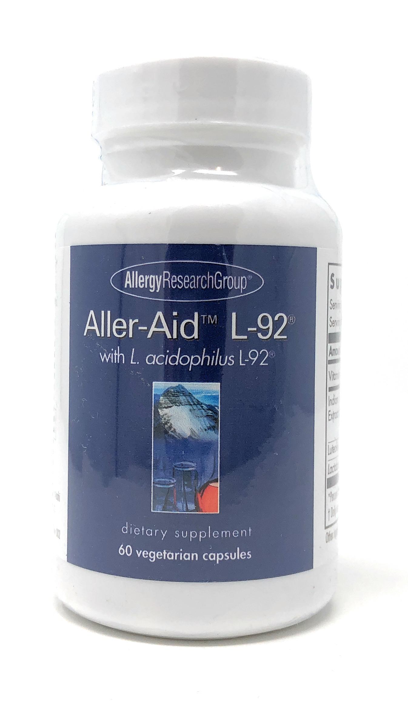 Allergy Research Group Aller-Aid L-92 60 veg. Kapseln