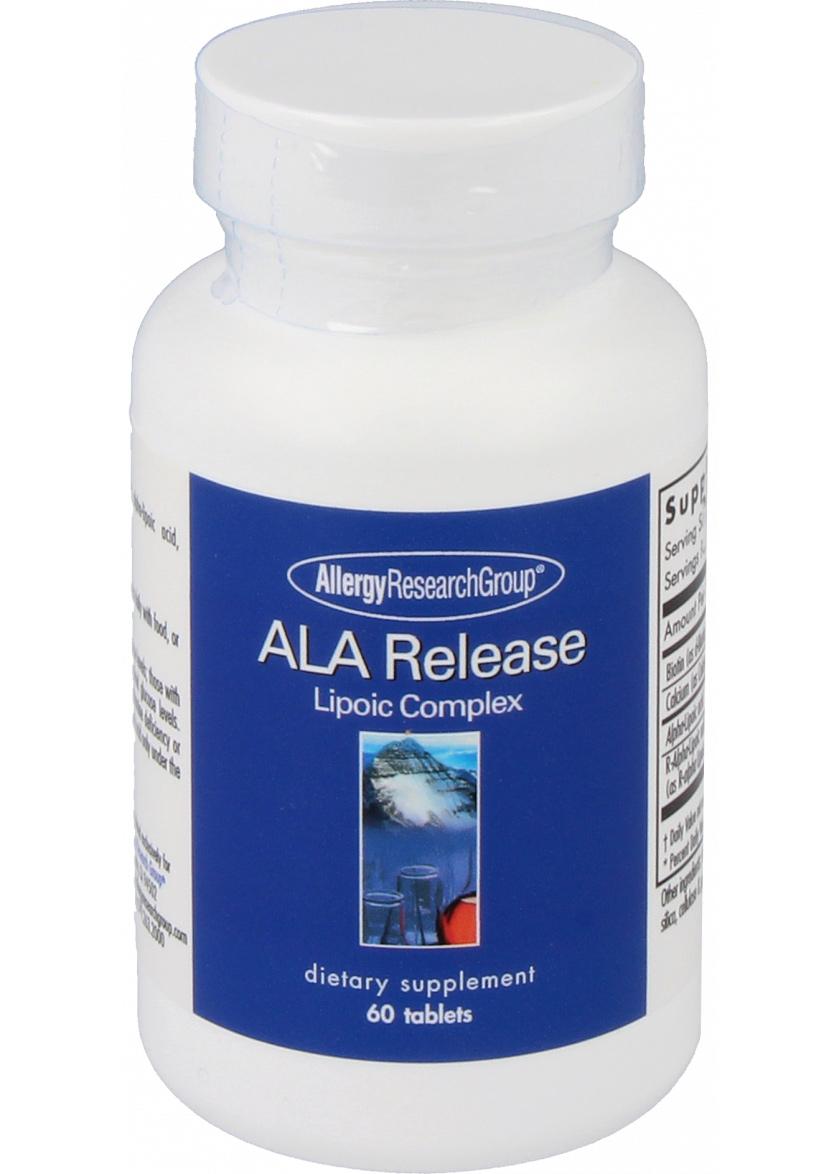 Allergy Research Group ALA Release [Alpha-Liponsäure] 60 Tabletten