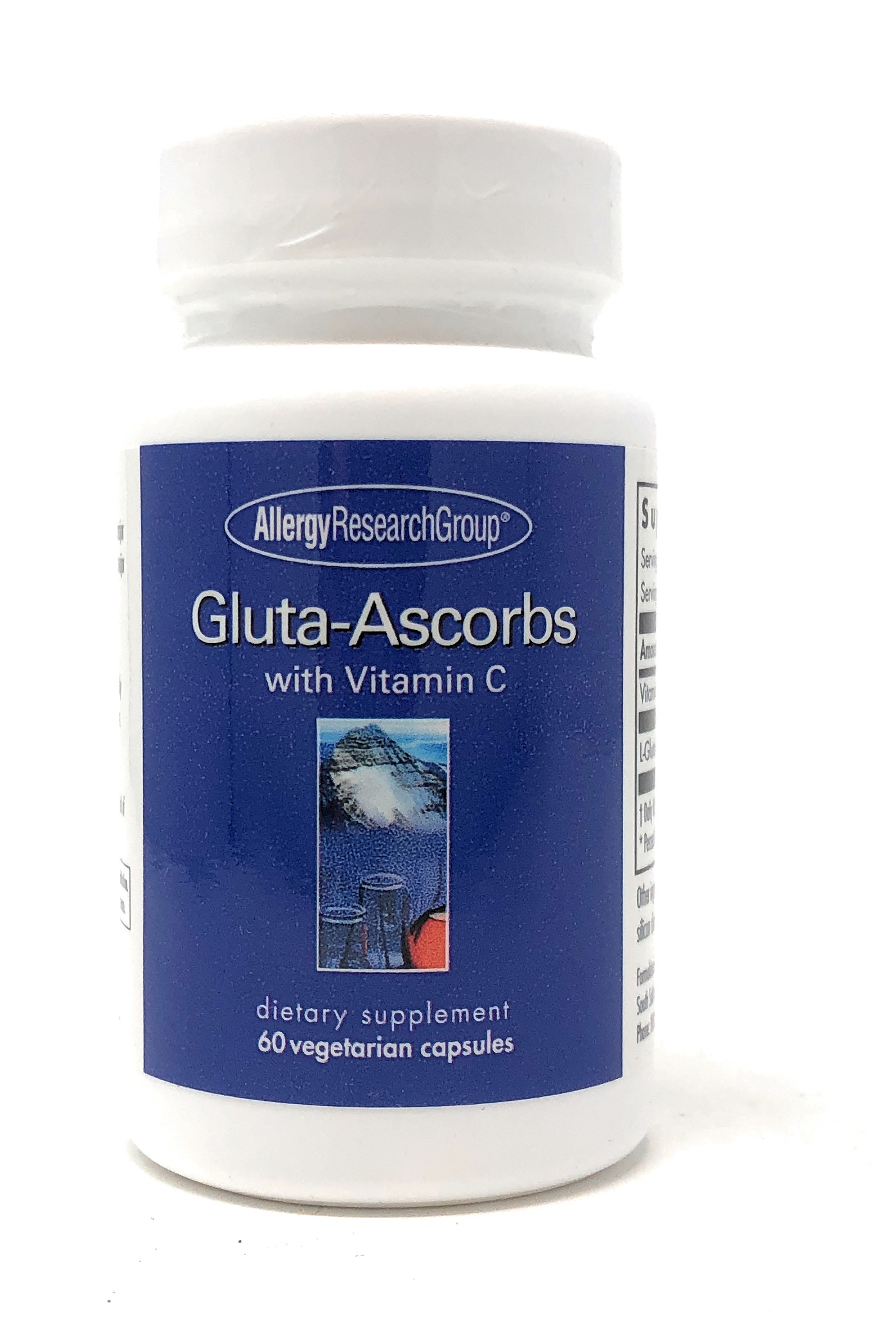 Allergy Research Group Gluta-Ascorbs 60 veg. Kapseln