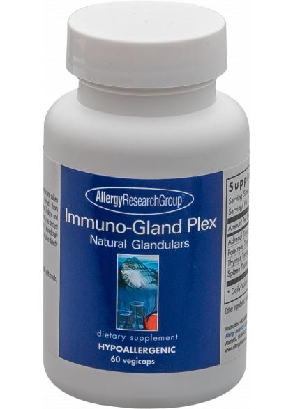 Allergy Research Immuno-Gland-Plex 60 veg. Kapseln