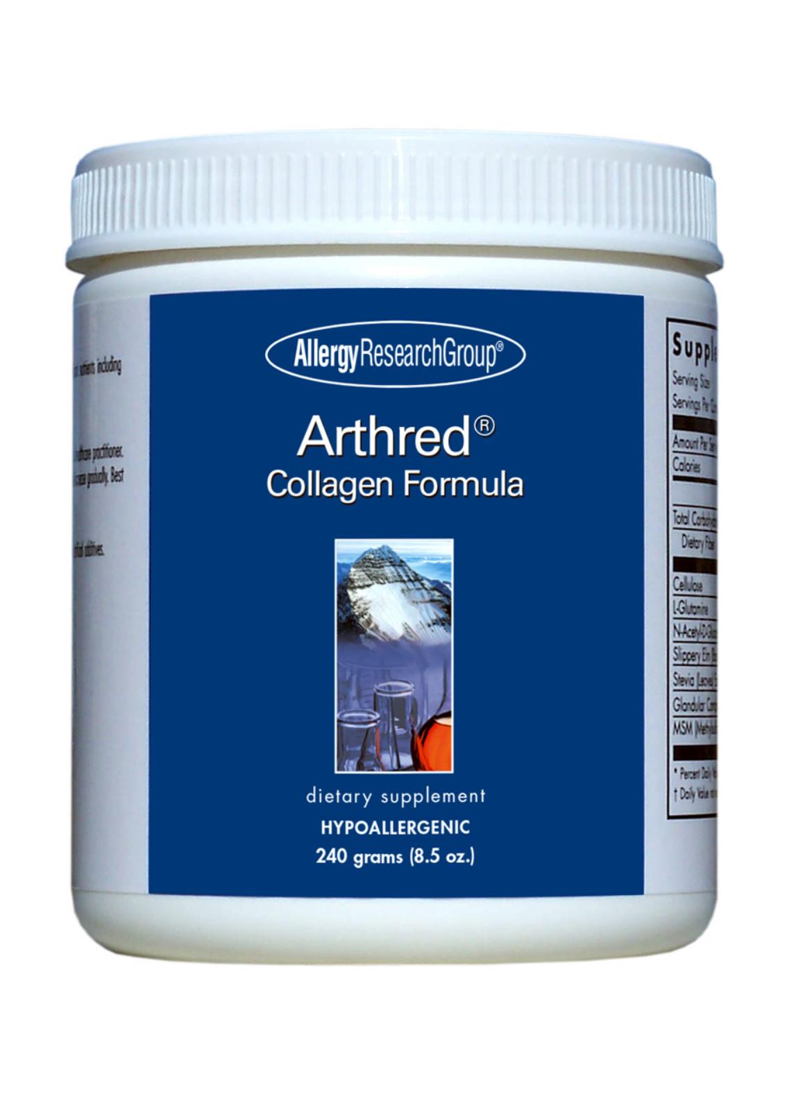 Allergy Research Group Arthred® Collagen Formula (Hydrolysiertes Kollagen) 900g Pulver