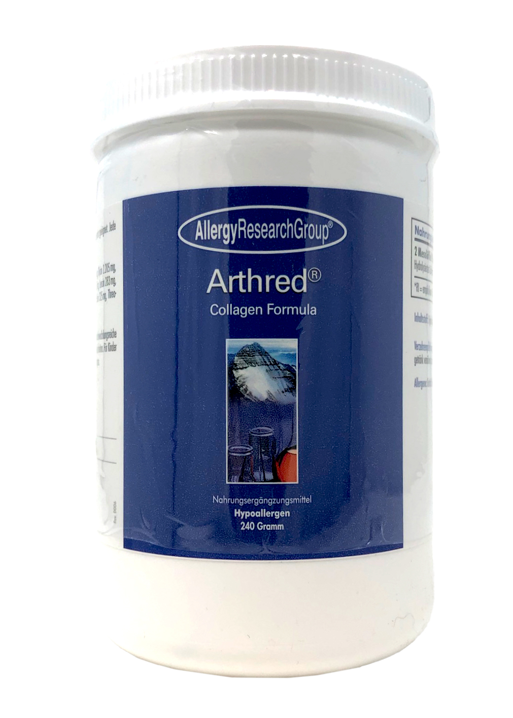 Allergy Research Group Arthred® Collagen Formula (Hydrolysiertes Kollagen) 240g Pulver