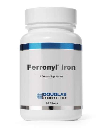 Ferronyl Iron - 27 mg Eisen mit Vitaminen 60 Tabletten DL