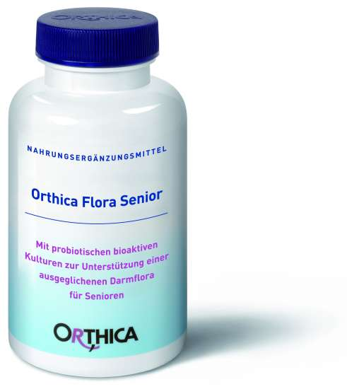 nahrungserg nzungsmittel mit probiotika kaufen orthica orthiflor senior 60 kapseln. Black Bedroom Furniture Sets. Home Design Ideas