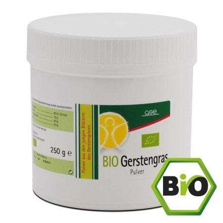 GSE Vertrieb Gerstengras Bio 250g Pulver (vegan)