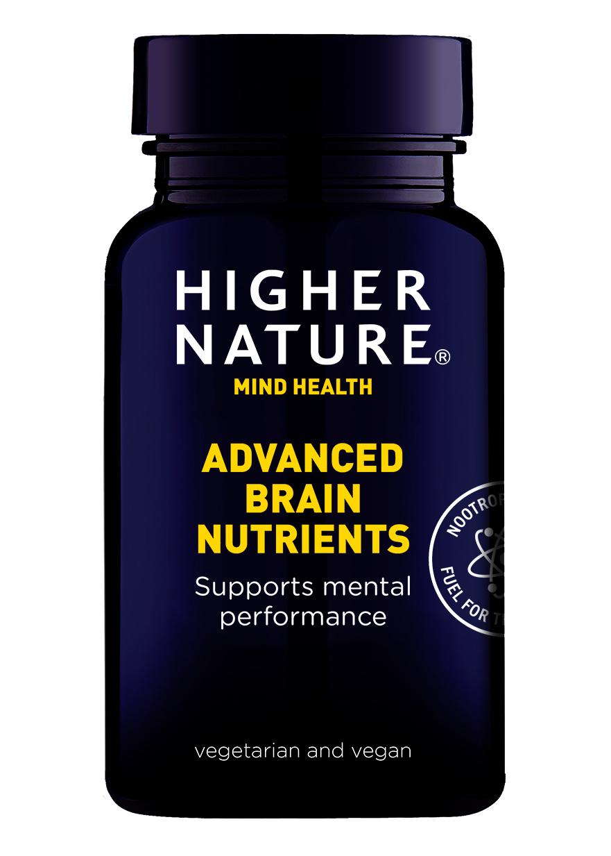 Higher Nature Advanced Brain Nutrients 180 veg. Kapseln (vegan)