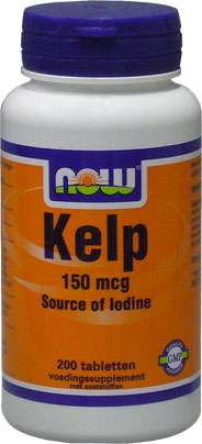 NOW Foods KELP 200 Tabletten