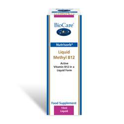 Nutrisorb© Methyl B12 (500mcg) 15ml Flasche BC (vegan)