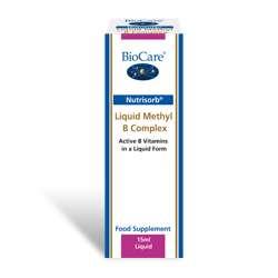 Nutrisorb© Liquid Methyl B Complex 15ml Flasche BC (vegan)