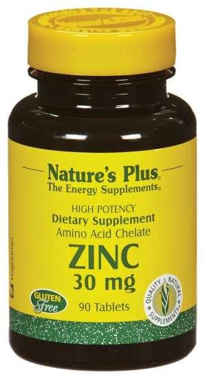 Zinc 30 mg ( Zink Aminosäurechelat) 90 Tabletten NP (vegan)