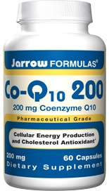 Jarrow CoQ10 200mg 60 Kapseln