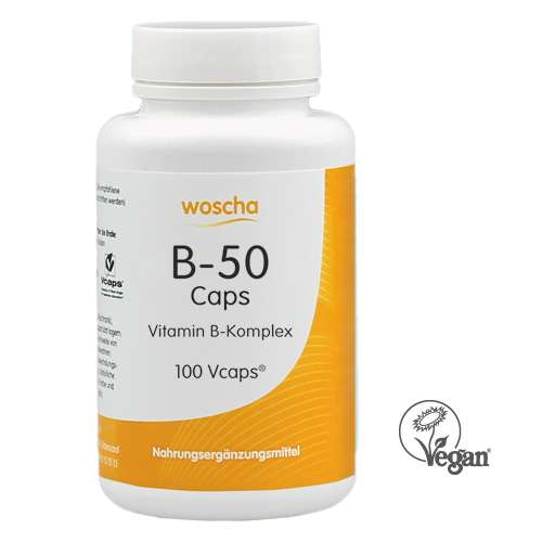 woscha B-50 KOMPLEX 90 K-CAPS® (54g) (vegan)