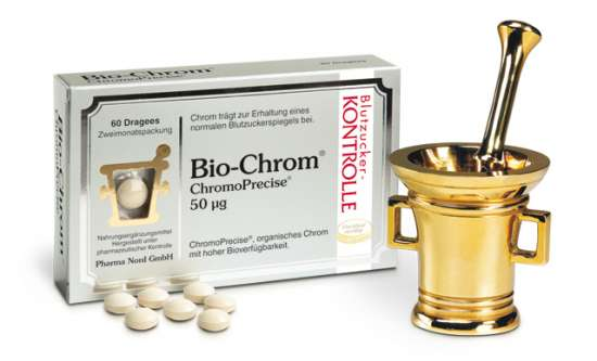 PharmaNord Bio*-Chrom® 50mcg ChromoPrecise® 60 Drageees
