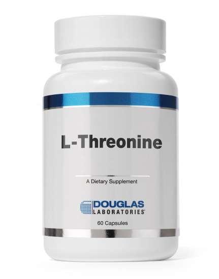 Douglas Labs L-Threonine / L-Threonin 500mg 60 Kapseln