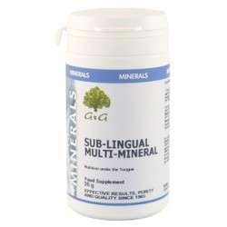G&G Vitamins Sub-Lingual Multi-Mineral 25g Pulver (vegan)