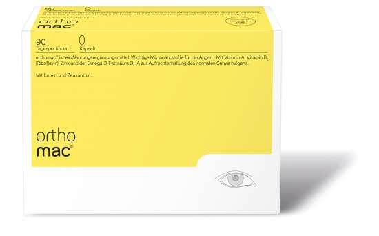 orthomed orthomac® Kapseln 90 Tagesportionen (198g)