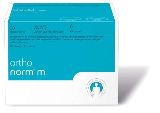 orthomed orthonorm® m (Granulat / 1 Tablette / 2 Kapseln) 30 Tagesportionen (30x16,9g = 507g)