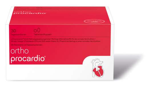 orthomed orthoprocardio Tabletten/Kapseln 30 Tagesportionen (30x 6,2g = 186g)