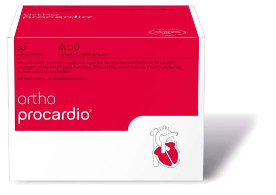 orthomed orthoprocardio® (Granulat + Kapseln) 30 Tagesportionen (552g)