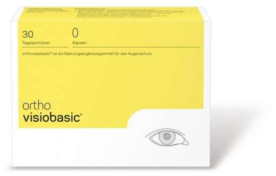 orthomed orthovisiobasic® 30 Kapseln (30x1g = 30g)