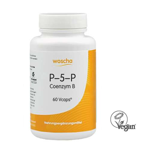 woscha P-5-P (50mg Co-Enzym B 6) 60 K-CAPS® (36g) (vegan)