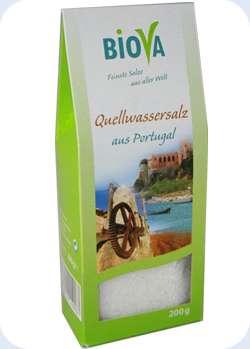 Biova Gourmetsalz Quellwassersalz aus Portugal 0,1-5mm 200g