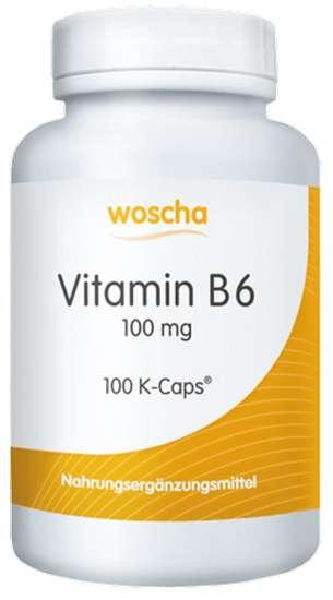 WOSCHA VITAMIN B6  100 mg 100 K-CAPS® (vegan)