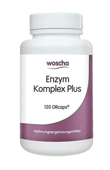woscha Enzym Komplex Plus 120 DRcaps (vegan)