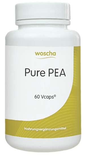 woscha PurePEA 400mg 60 Vcaps® (vegan) (27g)